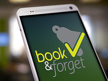BOOK and FORGET APP